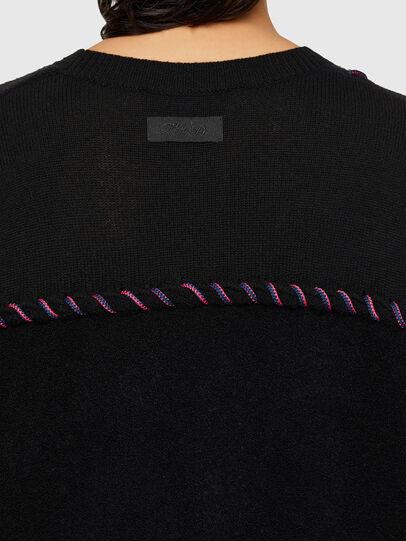 Diesel - M-MYRA, Black - Knitwear - Image 4