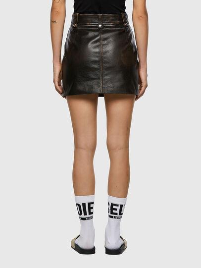 Diesel - L-EMILIA, Black - Skirts - Image 2