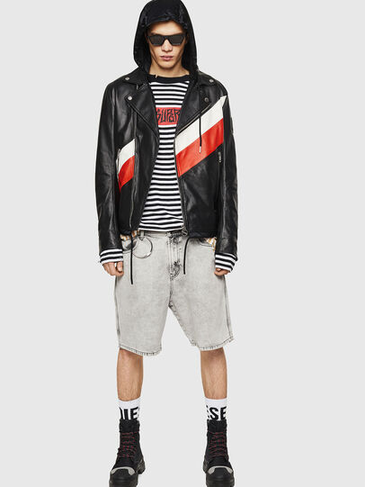 Diesel - L-SOLOVE,  - Leather jackets - Image 6