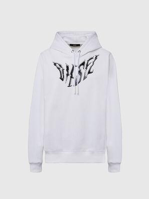 F-ANG-HOOD-K21, White - Sweaters