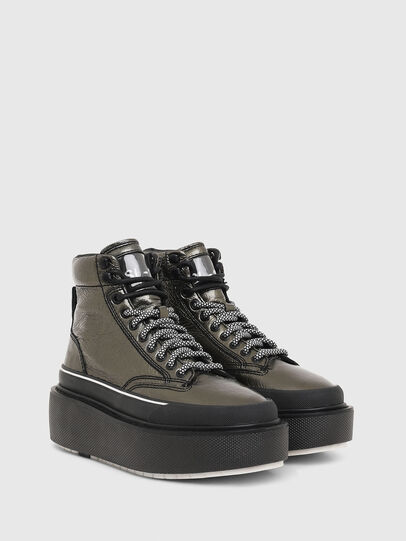 Diesel - H-SCIROCCO AB, Gold - Sneakers - Image 2