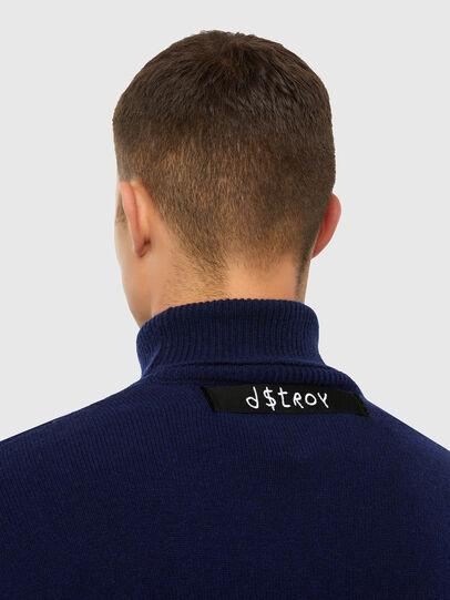 Diesel - K-MEL, Dark Blue - Knitwear - Image 3