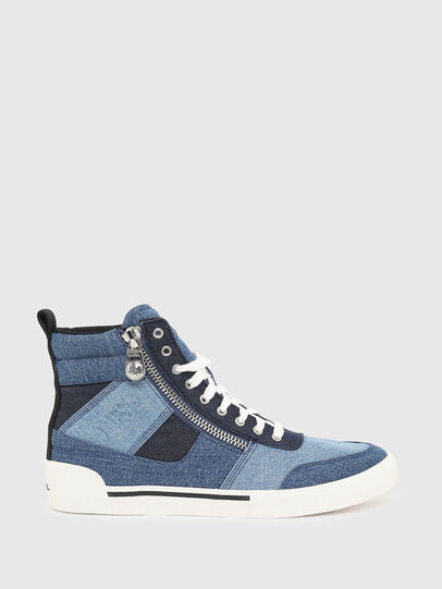 Diesel - S-DVELOWS MID CUT, Blue - Sneakers - Image 1