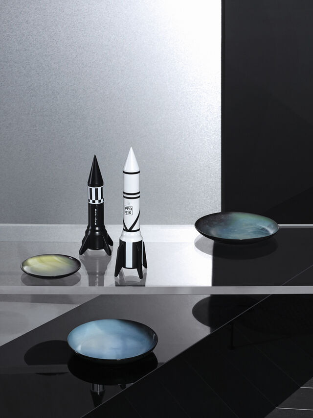 Diesel - 10969 COSMIC DINER, White - Home Accessories - Image 2