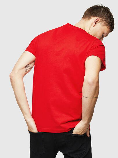 Diesel - T-DIEGO-DIV, Red - T-Shirts - Image 2