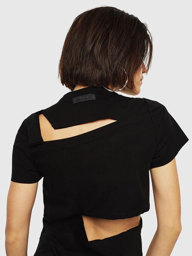 Diesel - D-MILIA-B, Black - Dresses - Image 6