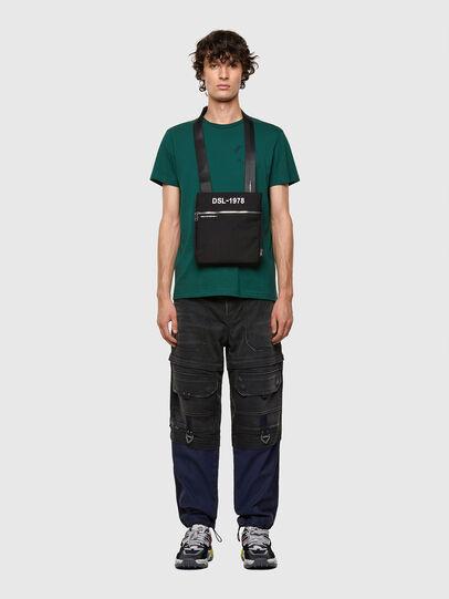 Diesel - F-URBHANITY CROSS ZP, Black - Crossbody Bags - Image 7