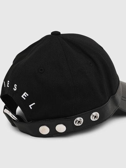 Diesel - COSNAP, Black - Caps - Image 4