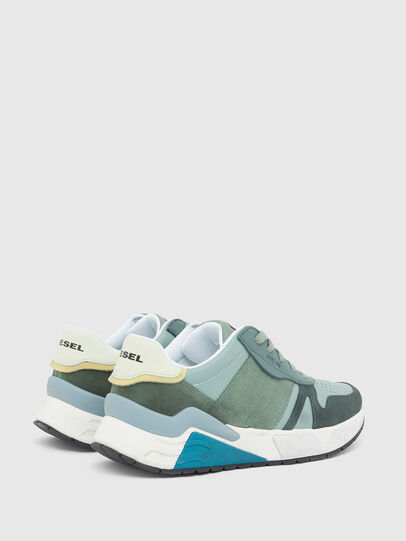 Diesel - S-BRENTHA FLOW, Water Green - Sneakers - Image 3