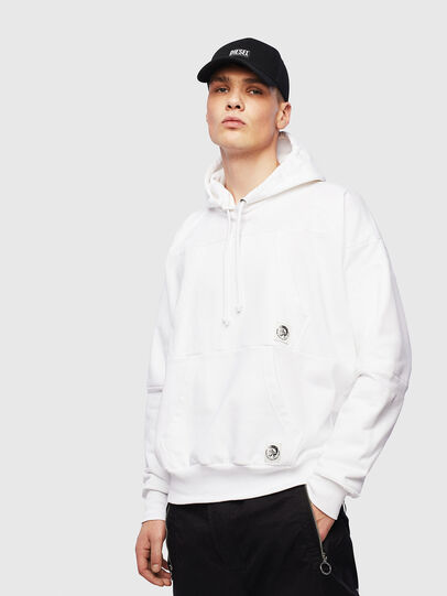 Diesel - S-ALBY-POCKETS, White - Sweaters - Image 1