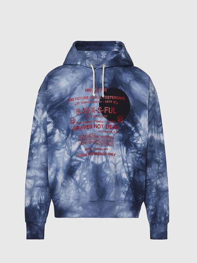 Diesel - S-MOONY, Blue/White - Sweaters - Image 1
