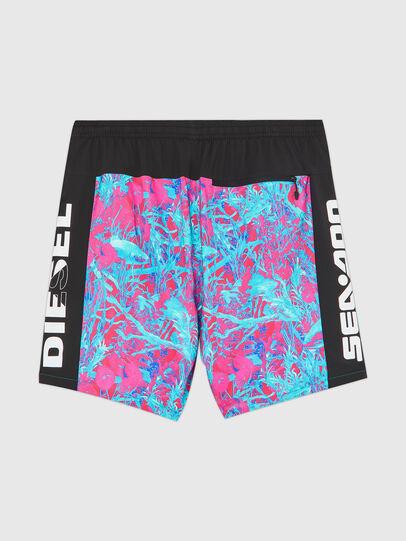 Diesel - BMBX-TUNADOO, Pink/Blue - Swim shorts - Image 2