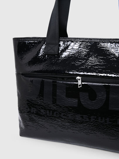 Diesel - F-BOLD SHOPPER III, Black - Shopping and Shoulder Bags - Image 5