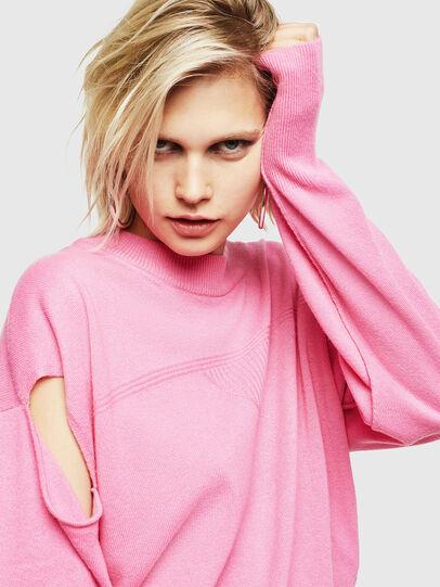 Diesel - M-CRISTAL, Pink - Knitwear - Image 3
