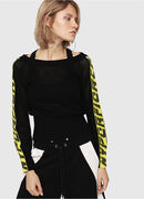 M-NANCY, Black/Yellow - Knitwear