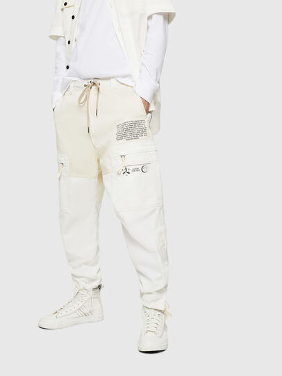 Diesel - P-LUKK, White - Pants - Image 1