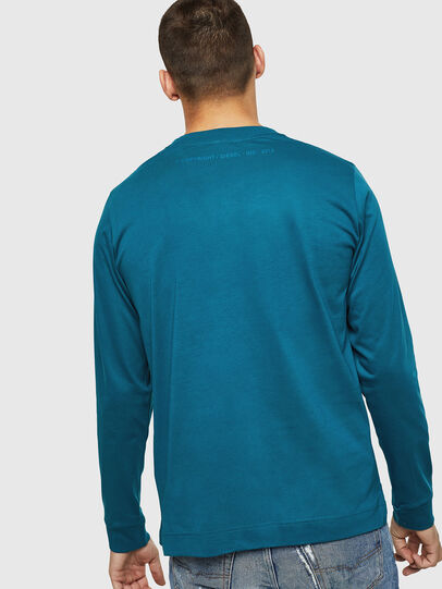 Diesel - T-LERMON, Blue Marine - T-Shirts - Image 2