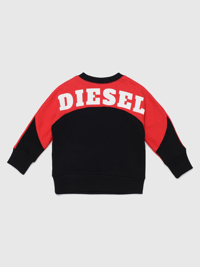Diesel - STRICKB, Black/Red - Sweaters - Image 2
