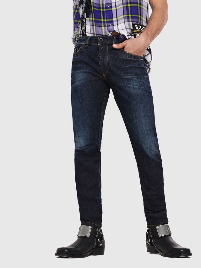 Diesel - Thommer 081AT, Dark Blue - Jeans - Image 1