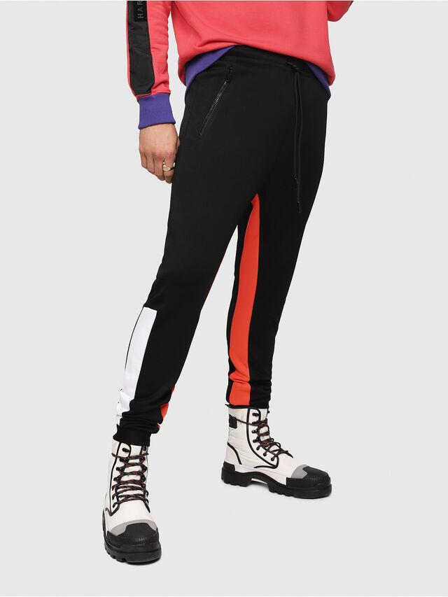 Diesel - P-MITSUO, Multicolor/Black - Pants - Image 1