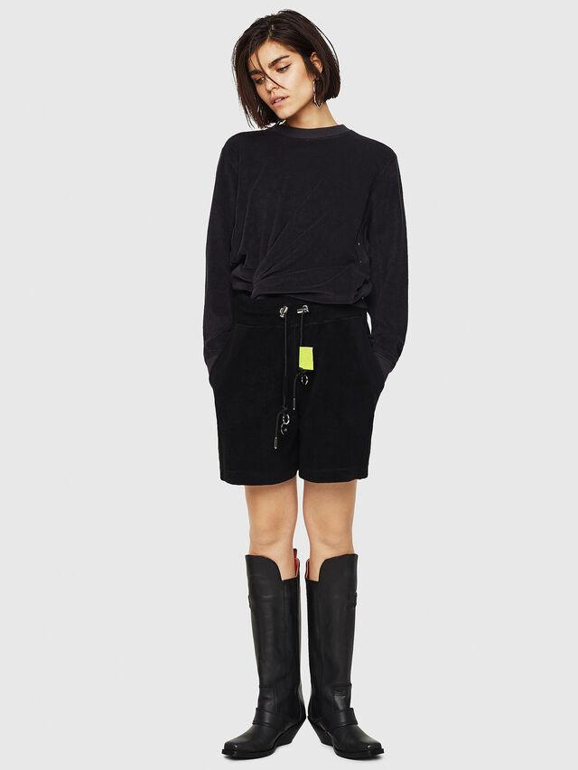 Diesel - F-LYANY-A, Black - Sweaters - Image 5