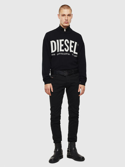 Diesel - Sleenker 069EI, Black/Dark grey - Jeans - Image 5