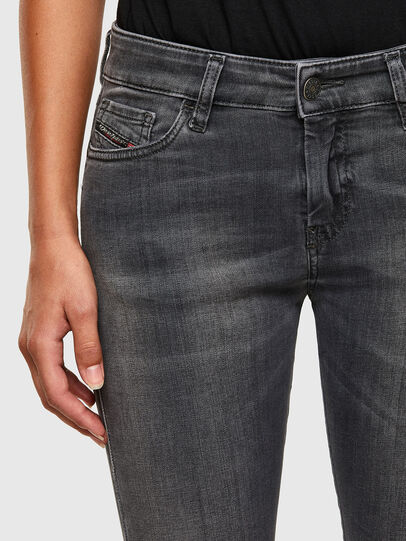 Diesel - Slandy 069MY, Black/Dark grey - Jeans - Image 3