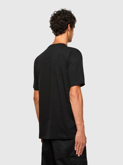 Diesel - T-TUBOLAR-N2, Black - T-Shirts - Image 2