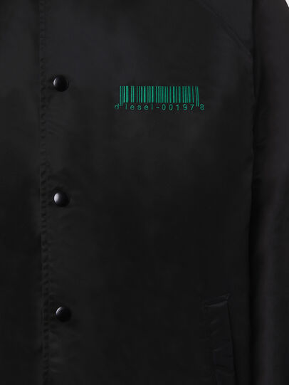 Diesel - J-AKIO-B, Black - Jackets - Image 4