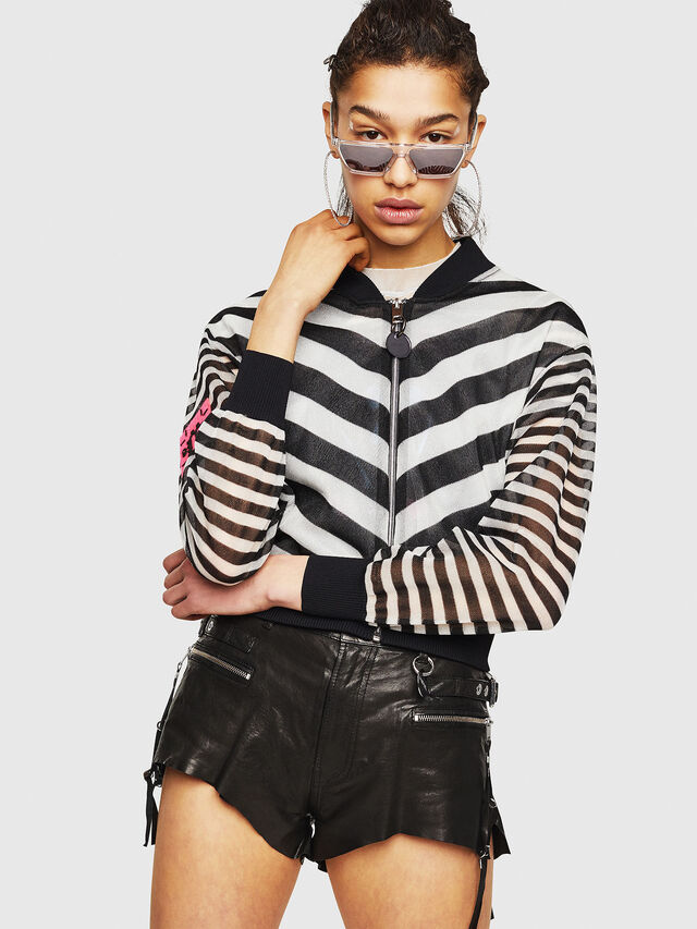 Diesel - M-DIXIT, Black/White - Knitwear - Image 1