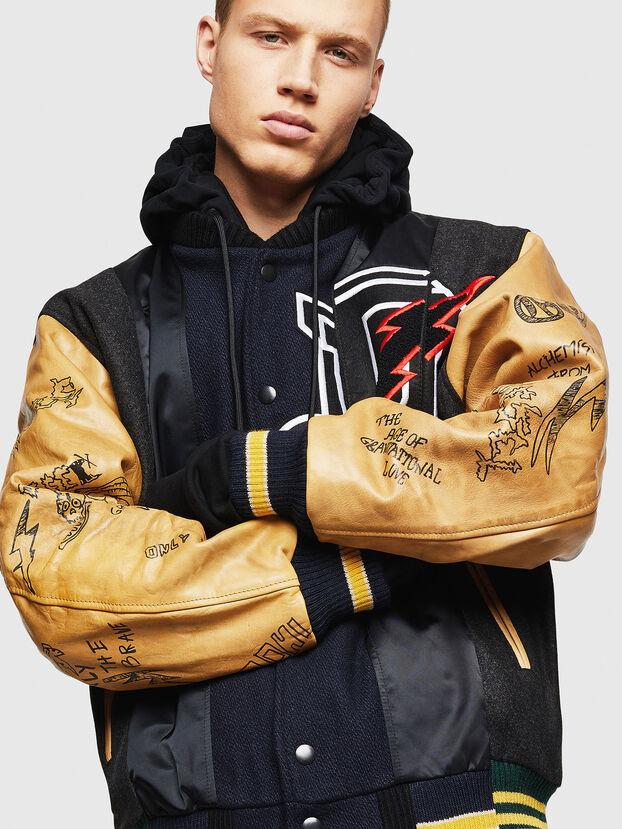 L-ANTON, Black - Leather jackets