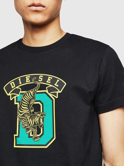 Diesel - T-DIEGO-B4, Black - T-Shirts - Image 3