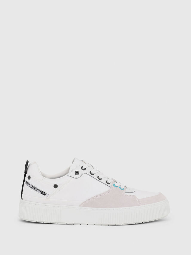 Diesel - S-DANNY LC, White - Sneakers - Image 1