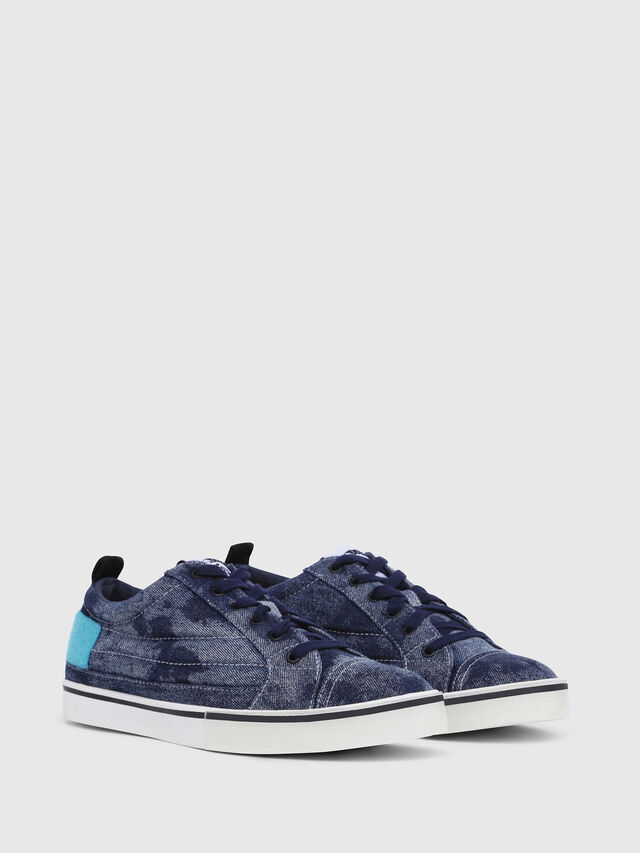 Diesel - D-VELOWS LOW PATCH, Blue Jeans - Sneakers - Image 2