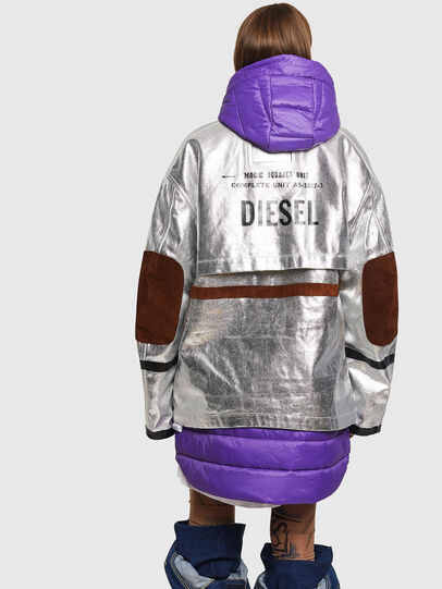 Diesel - W-GELYA, Silver - Winter Jackets - Image 2