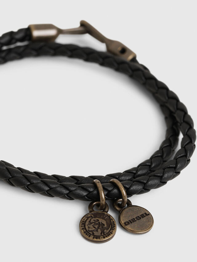 Diesel - ALUCY BRACELET 2, Dark Blue - Bijoux and Gadgets - Image 2