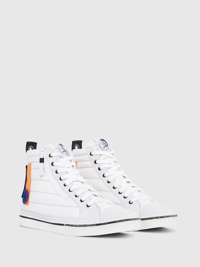 Diesel - D-VELOWS MID PATCH, Multicolor/White - Sneakers - Image 2