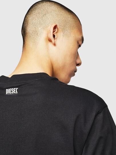 Diesel - T-LUCAS-NML-B1, Black - T-Shirts - Image 4