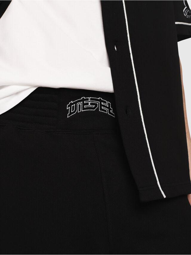Diesel - P-KOU-TAPE, Black - Shorts - Image 3