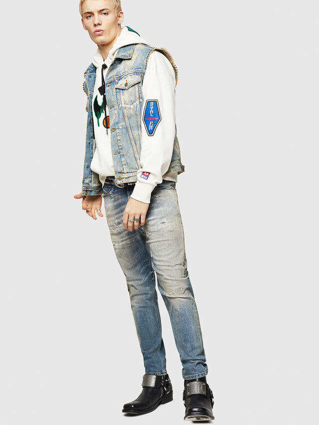 Diesel - D-Vider 084AQ, Light Blue - Jeans - Image 6