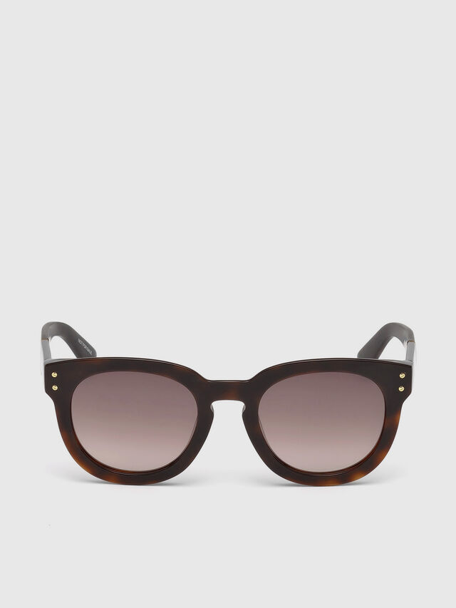 Diesel - DL0230, Brown/Black - Sunglasses - Image 1