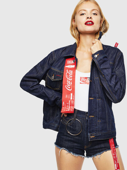 Diesel - CC-NHILL-W, Dark Blue - Denim Jackets - Image 2