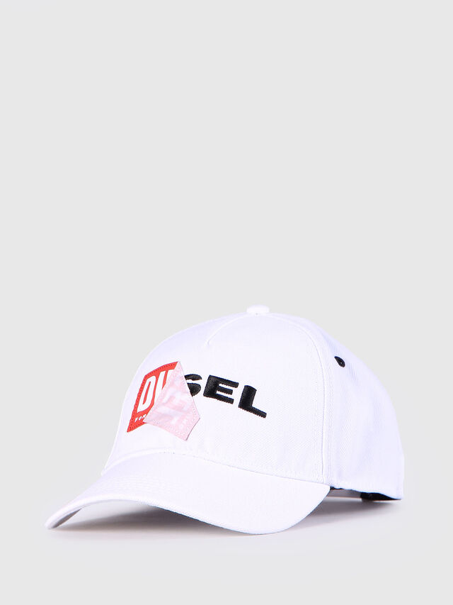 Diesel - CAKERYM, White - Caps, Hats and Gloves - Image 2
