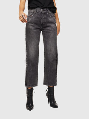 Aryel 0096I, Black/Dark grey - Jeans
