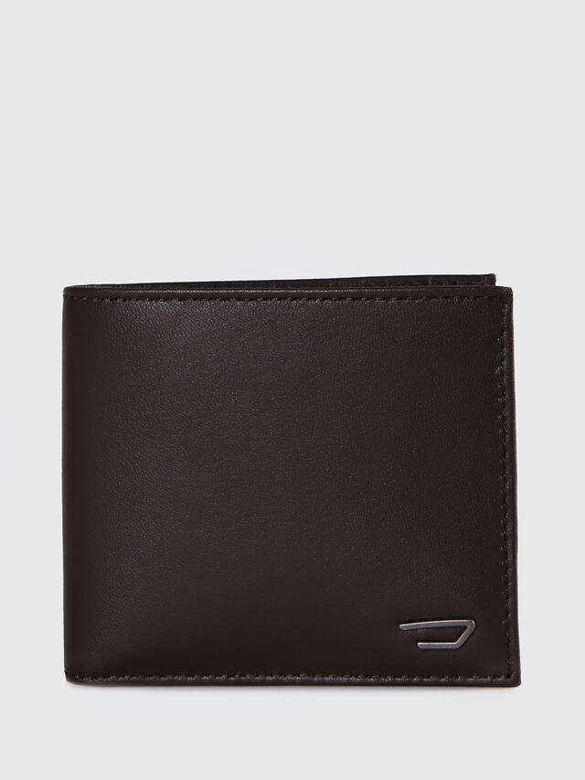 Diesel - HIRESH S, Dark Brown - Small Wallets - Image 1