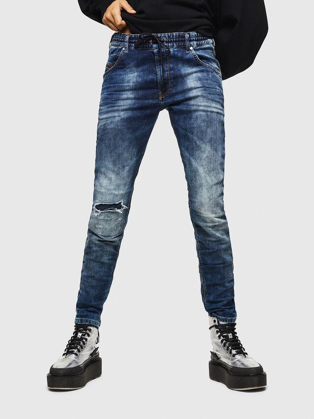 Diesel - Krailey JoggJeans 069AA, Dark Blue - Jeans - Image 1