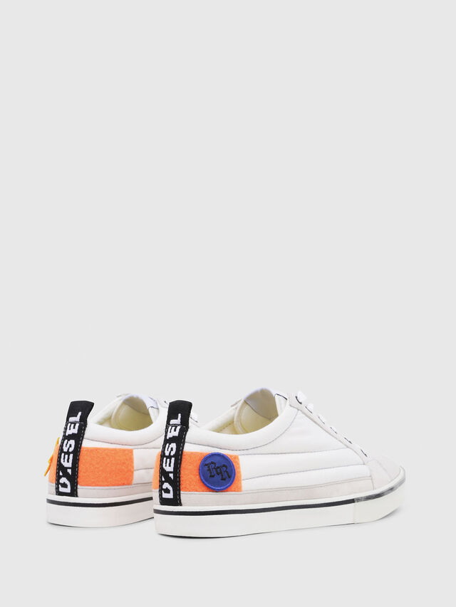 Diesel - D-VELOWS LOW PATCH, White - Sneakers - Image 3