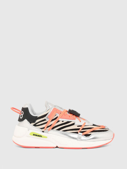 Diesel - S-SERENDIPITY LC EVO, White/Pink - Sneakers - Image 1