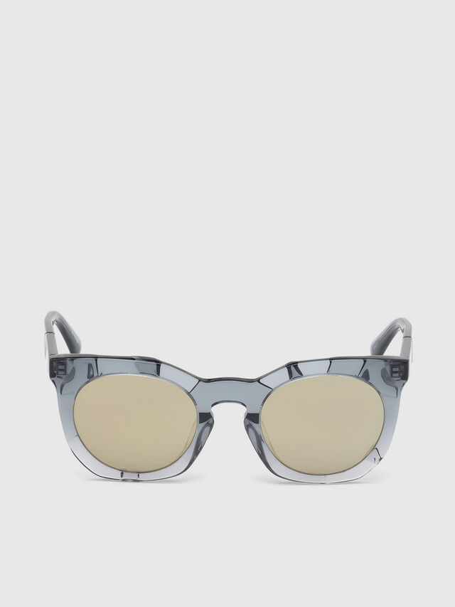 Diesel - DL0270, Grey - Sunglasses - Image 1