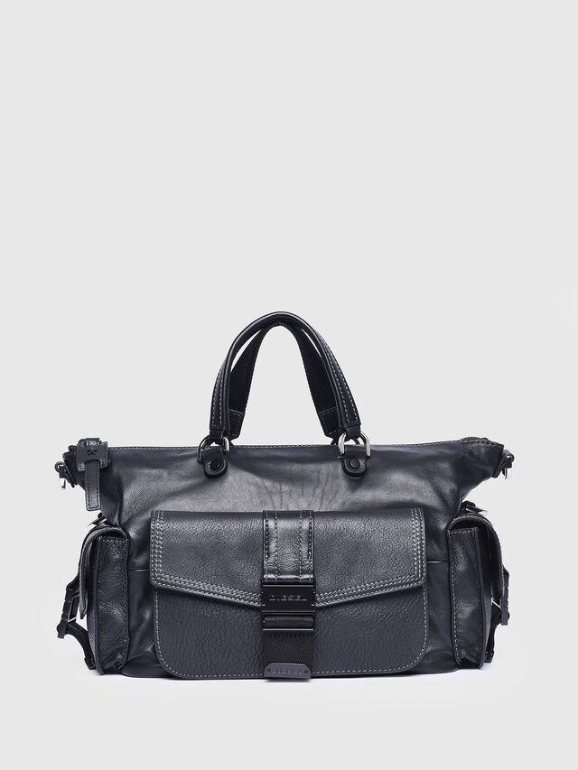 Diesel - MISS-MATCH SATCHEL M, Black - Satchels and Handbags - Image 1